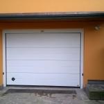Portone sezionale garage